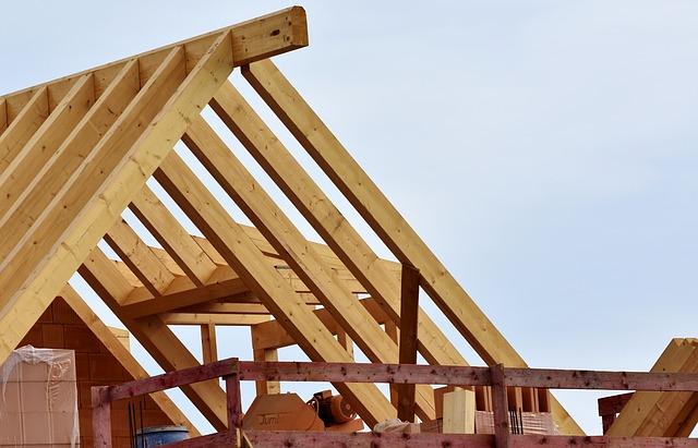 bygga hus - lägga tak